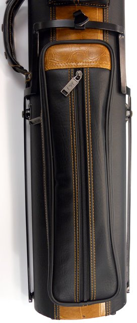 New J J Pc35x 4 3x5 Pool Cue Case With Stand Black With